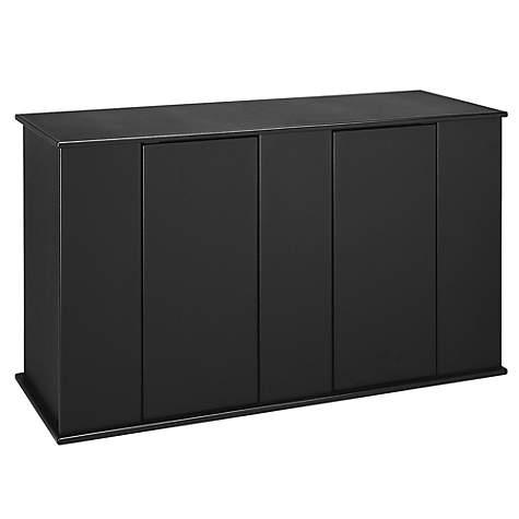 Black Aquarium Cabinet.